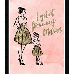 Mommy and Me Have Style Framed Art   Nordstrom Rack