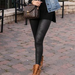 (**new item**) Faux Leather Leggings | Grace and Lace