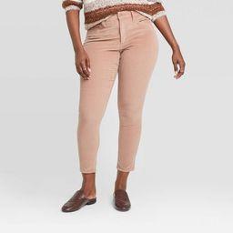Women's High-Rise Corduroy Skinny Jeans - Universal Thread™ | Target