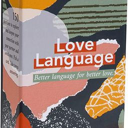 Love Language: Card Game - 150 Conversation Starter Questions for Couples - to Explore & Deepen C...   Amazon (US)
