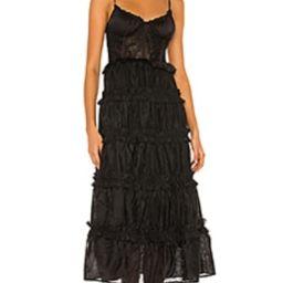V. Chapman Primrose Dress in Black from Revolve.com | Revolve Clothing (Global)