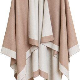 Women's Shawl Wrap Poncho Ruana Cape Cardigan Sweater Open Front for Fall Winter | Amazon (US)