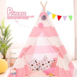 Topcobe Tents for Girls, Play Tents for Girls, Outdoor Indoor Teepee Tents for Kids, Birthday Gif... | Walmart (US)