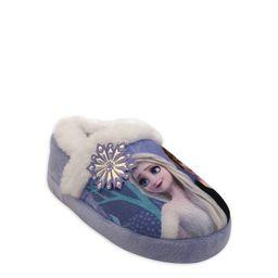 Disney Frozen 2 Anna & Elsa Faux Fur Character Aline Slipper (Toddler Girls) | Walmart (US)