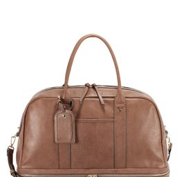 Sole Society Mason Faux Leather Travel Satchel - | Nordstrom