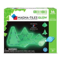 Magna-Tiles 16-Piece Glow In The Dark Set – LED LIGHT INCLUDED – The Original, Award-Winning ... | Walmart (US)