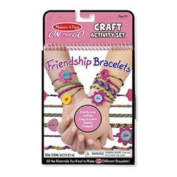 Melissa & Doug On the Go Friendship Bracelet Craft Set (Makes 10+ Bracelets)   Walmart (US)