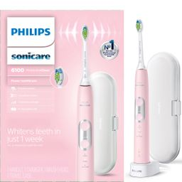 Philips Sonicare ProtectiveClean 6100 Whitening Rechargeable electric toothbrush with pressure se... | Walmart (US)