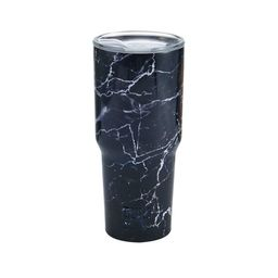 Built 30-ounce Double Wall Stainless Steel Tumbler, Black Marble   Walmart (US)