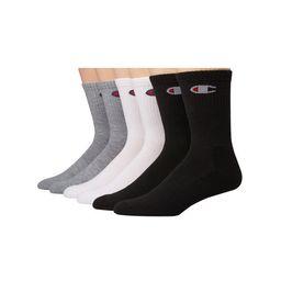 Champion Men's Logo Crew Socks, 6 Pack   Walmart (US)