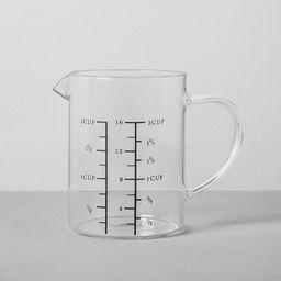 2 Cup Glass Measuring Pitcher - Hearth & Hand™ with Magnolia   Target
