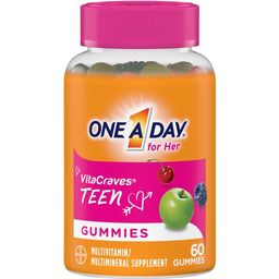 One A Day VitaCraves Teen for Her Multivitamin Gummies, 60 Count | Walmart (US)