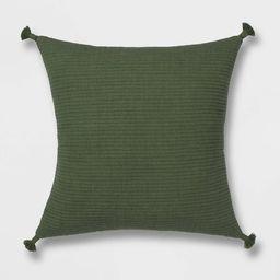 Euro Soft Texture Tasseled Throw Pillow - Project 62™   Target