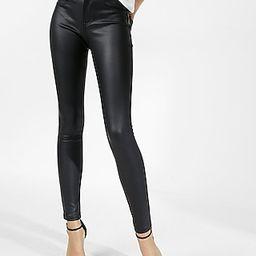 Five Pocket Vegan Leather Leggings | Express