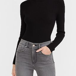 Fitted Ribbed Turtleneck Sweater | Express