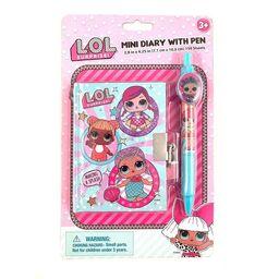 LOL Surprise 30368865 150 Sheet Mini Diary with Pen   Walmart (US)
