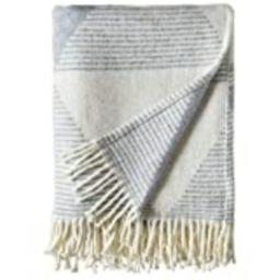 "Amazon Brand – Rivet Geo Throw Blanket, Soft and Stylish, 50"" x 60"", Ivory and Blue | Amazon (US)"