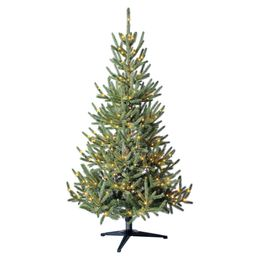 Holiday Time Pre-Lit Indexed Pine Artificial Christmas Tree, 5', Clear Fairy LED Lights | Walmart (US)