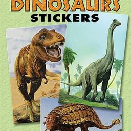 Dover Little Activity Books Stickers: Mighty Dinosaurs Stickers: 36 Stickers, 9 Different Designs... | Walmart (US)