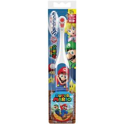 Super Mario Arm & Hammer Kids Spinbrush, Soft, Electric Battery Toothbrush, 1 Count | Walmart (US)
