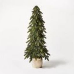 3ft Artificial Plain Wood Vessel Tree - Threshold™ designed with Studio McGee | Target