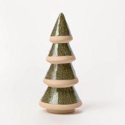 Decorative Glazed Ceramic Tree Green - Threshold™ designed with Studio McGee | Target