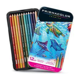 Prismacolor Premier Thick Core Colored Pencil Set, 12-Pencil Set, Under The Sea | Walmart (US)