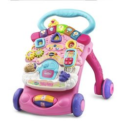 VTech, Stroll and Discover Activity Walker, Walker for Babies, Baby Toy, Pink   Walmart (US)