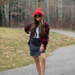 Outstanding Effort Faux Leather Skirt | Apricot Lane Boutique
