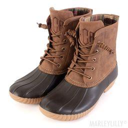 Monogrammed Duck Boots   Marleylilly