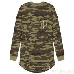 Monogrammed Long Sleeve Shirt   Marleylilly