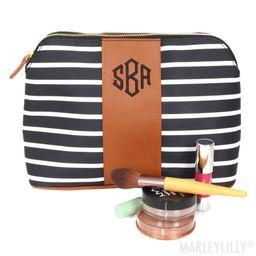 Monogrammed Cosmetic Bag   Marleylilly