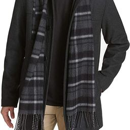 Dockers Men's Weston Wool Blend Car Coat with Scarf (Regular and Big & Tall Sizes)   Amazon (US)