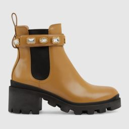 Women's ankle boot with belt | Gucci (US)