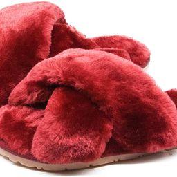 Women's Fuzzy Fluffy Furry Fur Slippers Flip Flop Open Toe Cozy House Memory Foam Sandals Slides ... | Amazon (US)