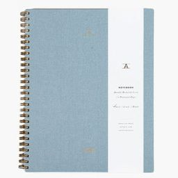 Chambray Blue Lined Notebook | Tuckernuck (US)