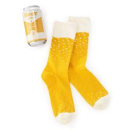 Beer Socks   UncommonGoods