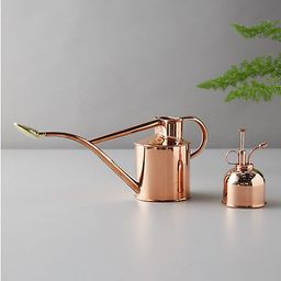 Haws 1 Liter Copper Watering Can + Mister Gift Set | Terrain