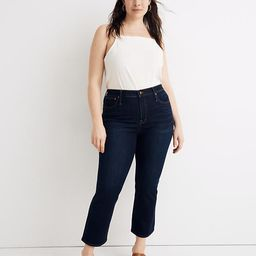 Curvy Cali Demi-Boot Jeans in Larkspur Wash: TENCEL™ Denim Edition | Madewell