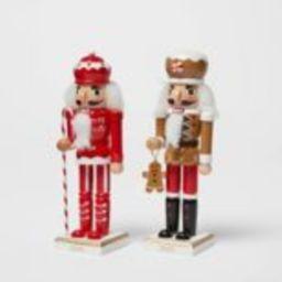 "8"" Christmas Candy Theme Nutcracker Set - Wondershop™ | Target"