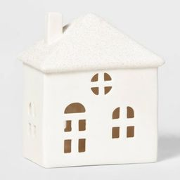 Ceramic Stout House Decorative Figurine White - Wondershop™ | Target