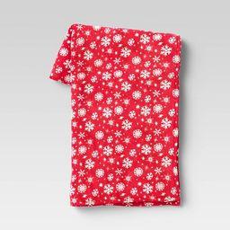 Holiday Snowflake Plush Throw Blanket - Wondershop™ | Target