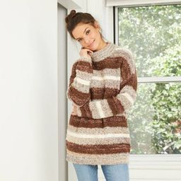 Women's Mock Turtleneck Tunic Pullover Sweater - Universal Thread™ | Target