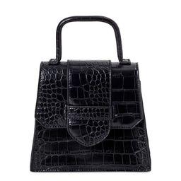 Scoop Women's Faux Croco Top Handle Mini Crossbody Bag | Walmart (US)