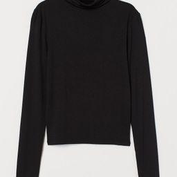 Short Turtleneck Top | H&M (US)