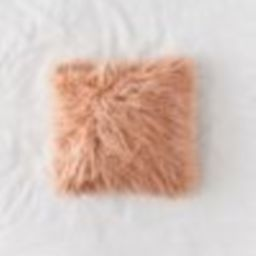 Mila Faux Fur Throw Pillow | Urban Outfitters (US and RoW)