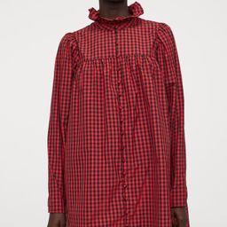 Ruffled-collar Dress   H&M (US)