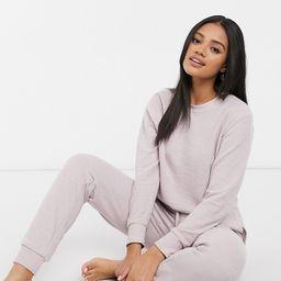 ASOS DESIGN lightweight sweat shirt/pants set   ASOS (Global)