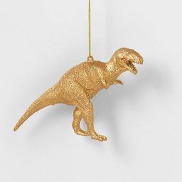 Gold Dinosaurs Christmas Tree Ornament  T-Rex - Wondershop™ | Target