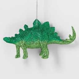 Glitter Dinosaur Christmas Tree Ornament Green - Wondershop™ | Target